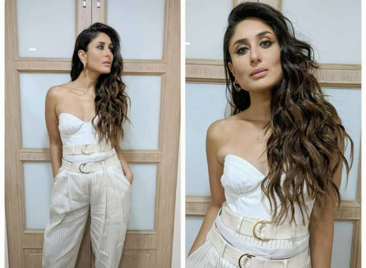 4d95f54163c Every time fashion diva Kareena Kapoor Khan makes chic style statement in  colour white
