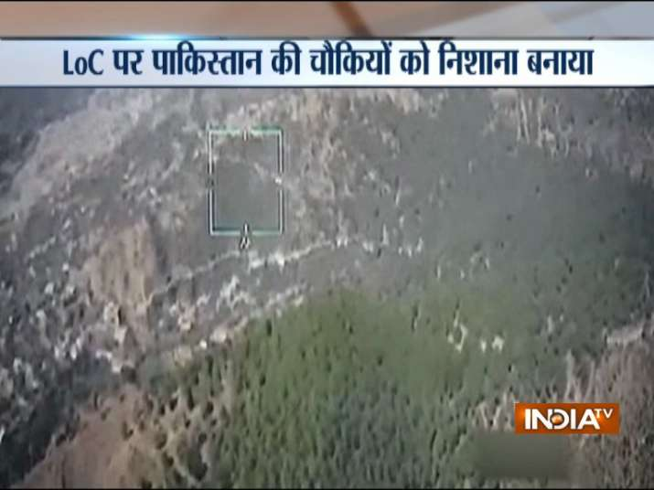 Indian Army targets Pakistan army administrative HQ along