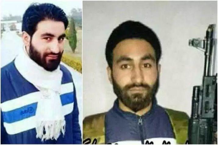 Slain Hizbul terrorist Manan Wani.
