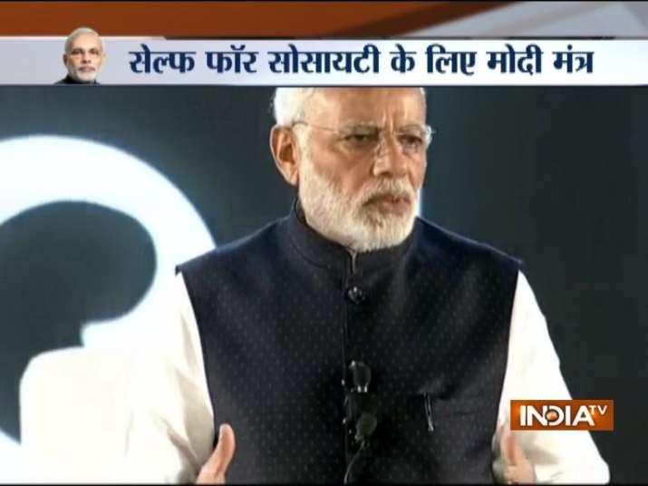 PM Modi 'Main Nahi Hum' portal and app in New Delhi.