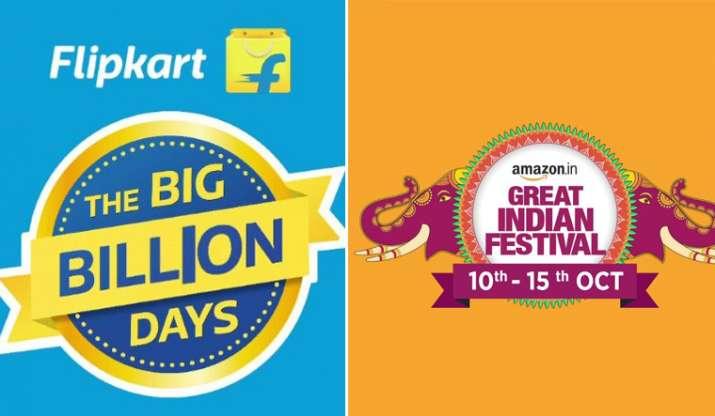 India Tv - Flipkart Big Billion Days sale,Amazon Great Indian Festival 2018