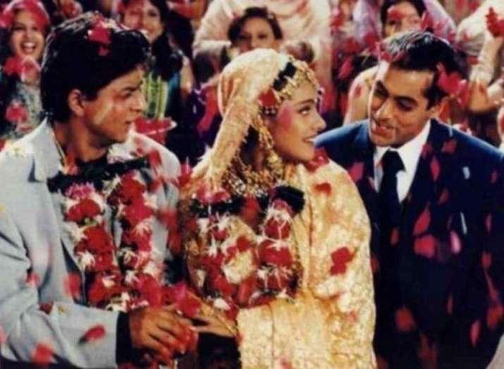 Image result for kajol kuch kuch hota hai ending