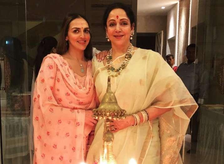 Daughter Esha Deol posts heartfelt wish for mommy Hema Malini on ...