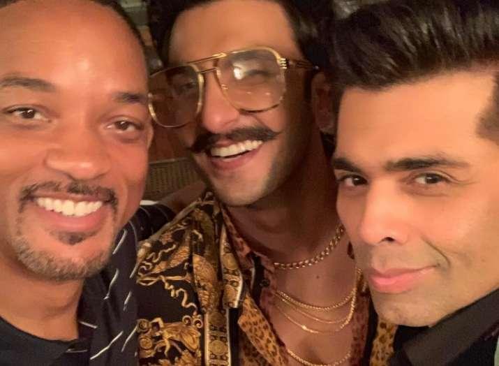 Karan Johar, Ranveer Singh give Hollywood star Will Smith a