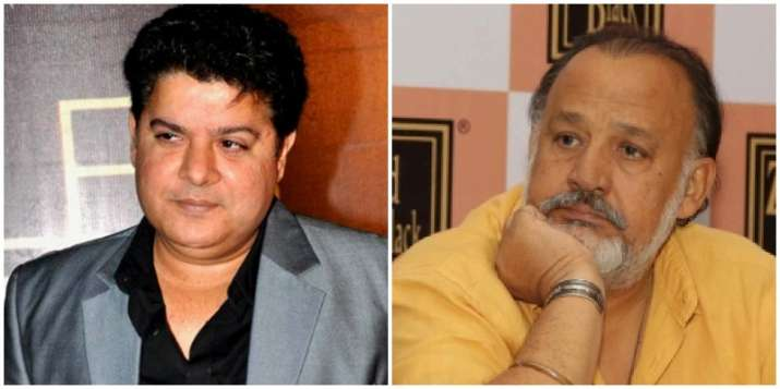 Sajid Khan and Alok Nath