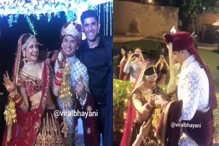 Traditional Wedding Ceremony | Prince Narula And Yuvika Chaudhary S Wedding Inside Pics And Videos