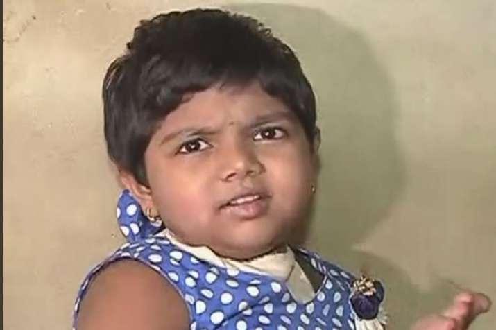 IshitaJawale, 4-year old Pune girl