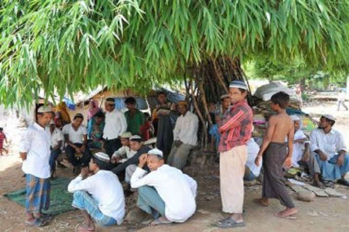 India sends seven Rohingya Muslims to Assam border to be