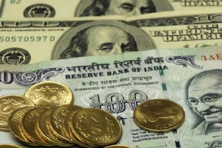Rupee closed at 74.39 against the US dollar, down by