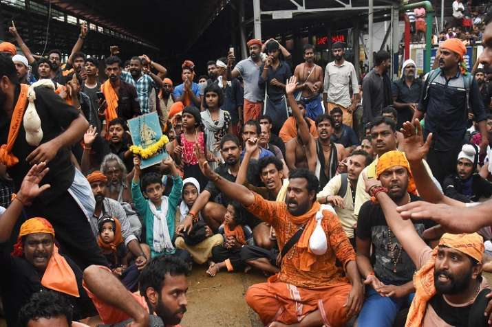 Sabarimala row LIVE: Situation tense after rumours of five more women attempting trek emerge