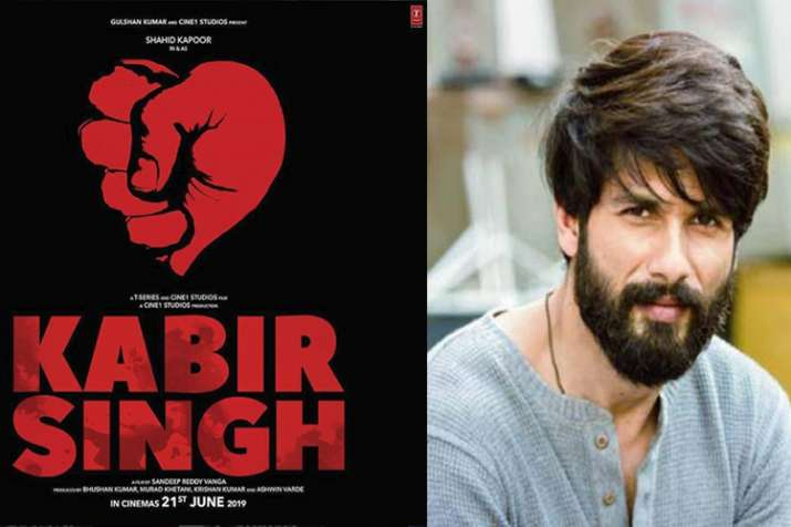Kabir Singh First Look Shahid Kapoor To Play Lead Role In