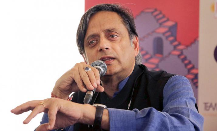 Shashi Tharoor quotes 'RSS source' to make controversial
