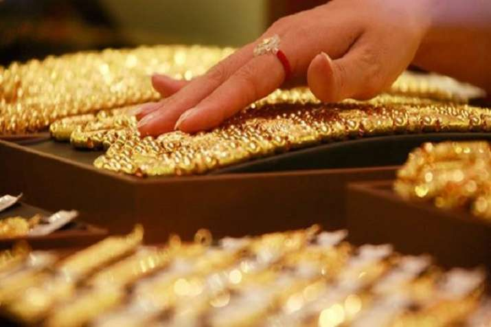 Gold price soars