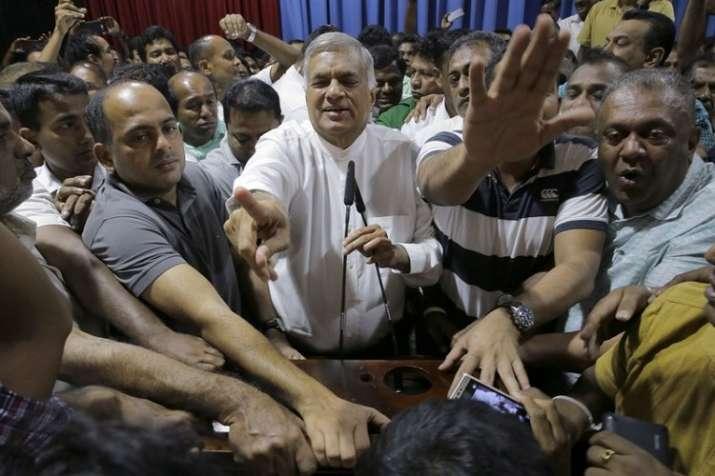 Sri Lankan political crisis
