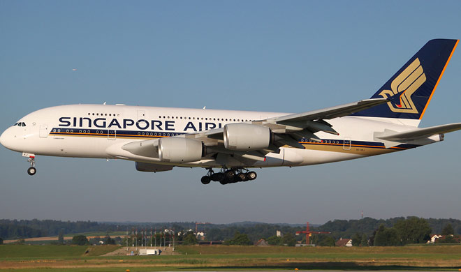 World's longest flight to take off from Singapore to United