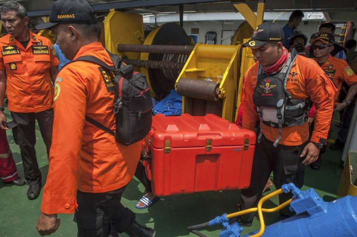 India Tv -   The flight data recorder is expected to provide investigators with detailed information about the flight such as altitude, airspeed and heading.
