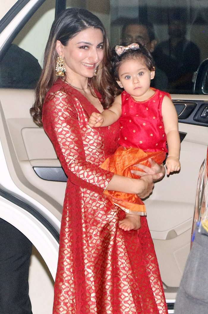 India Tv - Soha Ali Khan with Inaaya