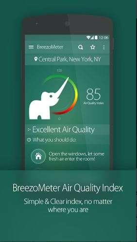 India Tv - Air Quality Index BreezoMeter (Breezometer)