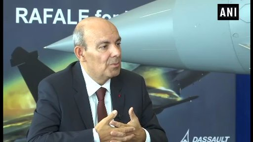 Dassault CEO Eric Trappier