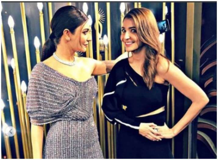 India Tv -  Who is the real Anushka Sharma? Bollywood actress unveils her stunning wax statue at Madame Tussauds Singapore