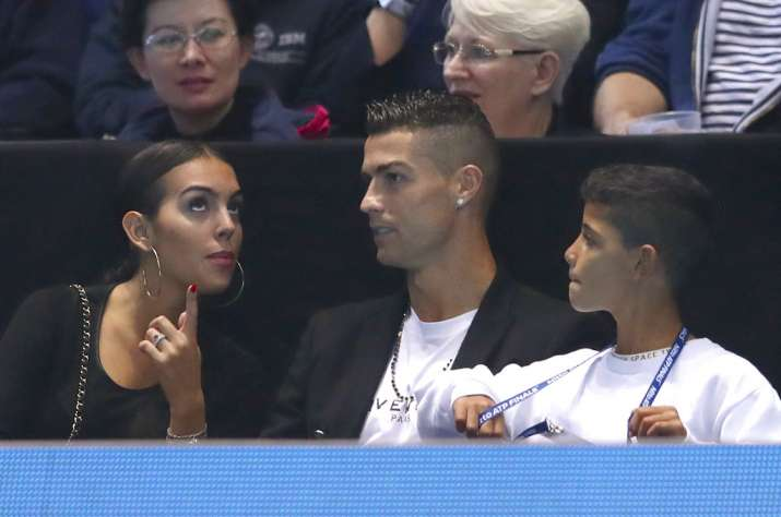 India Tv - Ronaldo was seen along with his partner Georgina and his son Cristiano Ronaldo Junior
