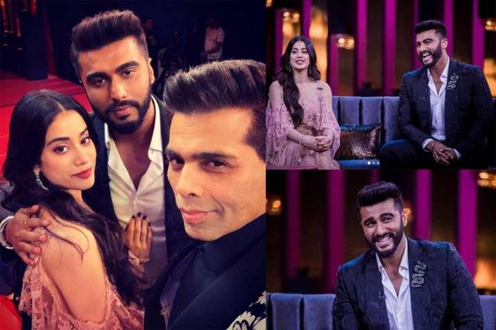 Arjun Kapoor, Janhvi Kapoor, Koffee With Karan season 6, Karan Johar