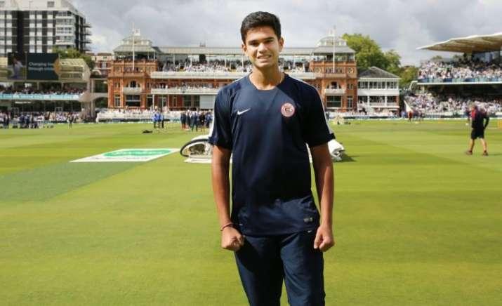 Arjun Tendulkar picks fifer against Delhi in Cooch Behar U-19 match
