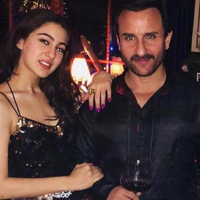 India Tv - Saif Ali Khan and daughter Sara