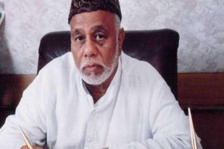 Senior Congress leader CK Jaffer Sharief