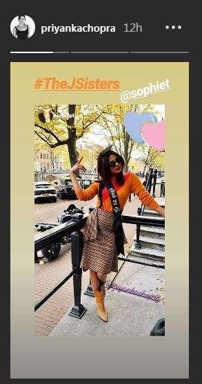 India Tv - Priyanka Chopra's dreamy bachelorette in Amsterdam
