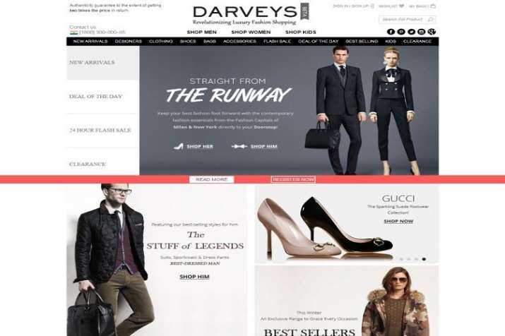 c613a6229b10 Delhi HC directs e-commerce site Darveys to ensure products for sale ...