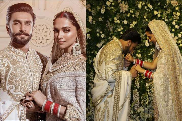 This Is How Deepika Padukone Reacted When Paparazzi Addressed The Couple As Ranveer And Bhabhiji Watch Video Celebrities News India Tv