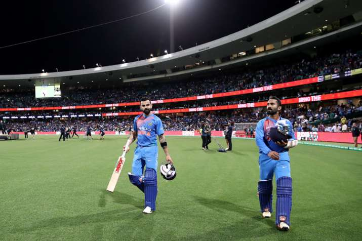 India Tv - Dinesh Karthik showed his importance with the bat yet again in the middle-order
