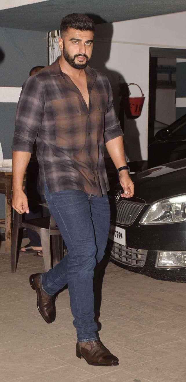 India Tv - Arjun Kapoor at Shanaya Kapoor's birthday party