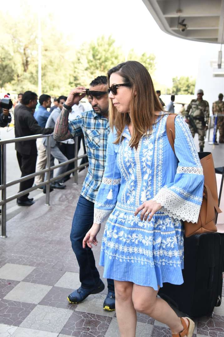 India Tv - Guests arrive in Jodhpur for Priyanka-Nick wedding