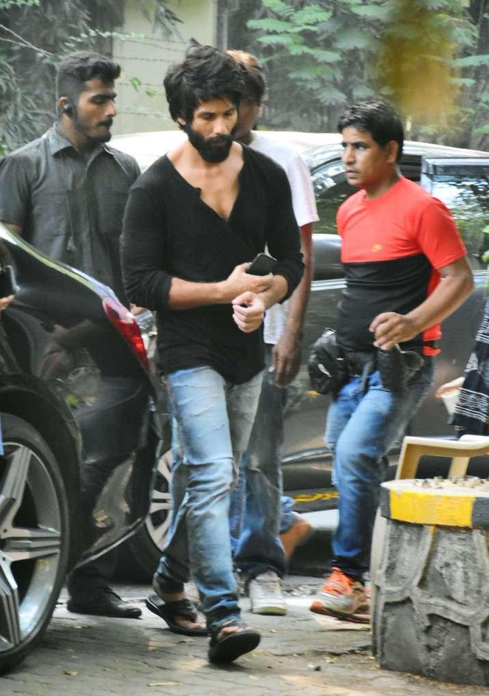 India Tv - Shahid Kapoor on Kabir Singh shooting location