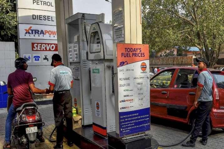 Fuel price drop