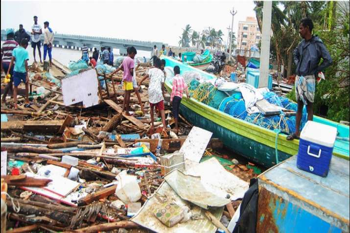 Cyclone Gaja death toll reaches 20 in Tamil Nadu