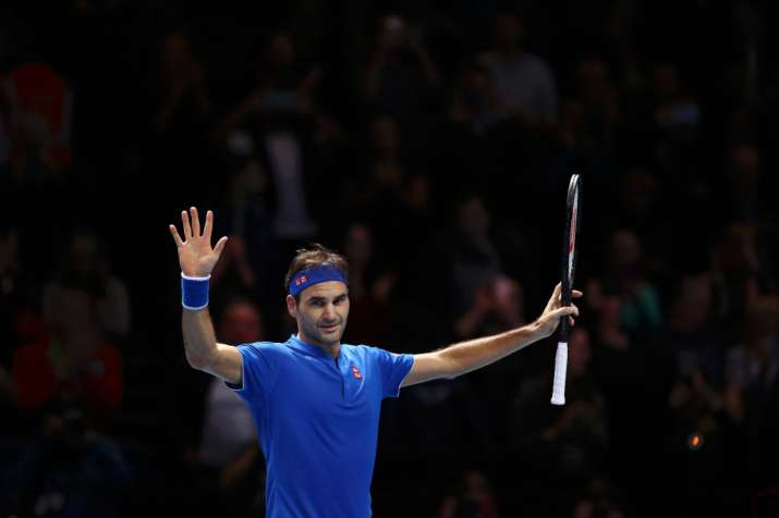 60b7ac7a Federer to face Zverev, Djokovic takes on Anderson in semifinals of ATP  Finals | Tennis News – India TV