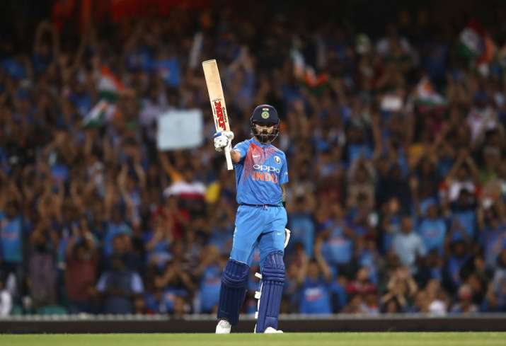 3rd T20I: Kohli's fifty, Krunal's four-for helps India sink