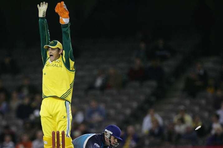 India Tv - Adam Gilchrist has effected 92 stumpings for Australia in his international career