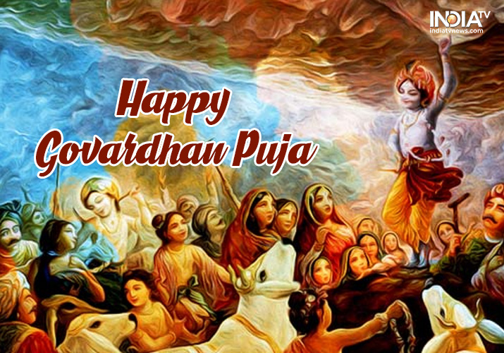 Happy Govardhan Puja 2018: Festival Date, Significance ...
