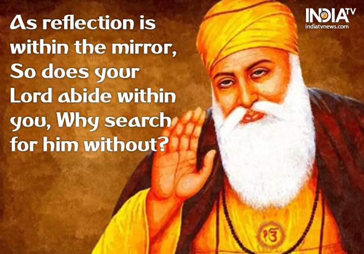 gurpurab top inspirational quotes by guru nanak dev ji to