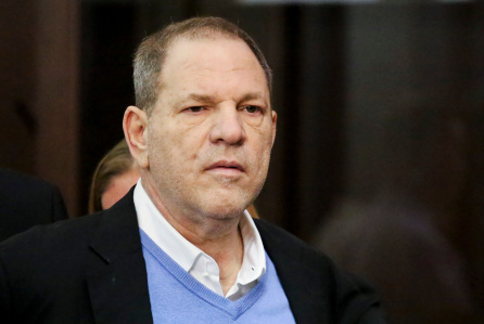 Harvey Weinstein indicted of intimately assaulting 16-year-old lady in 2002