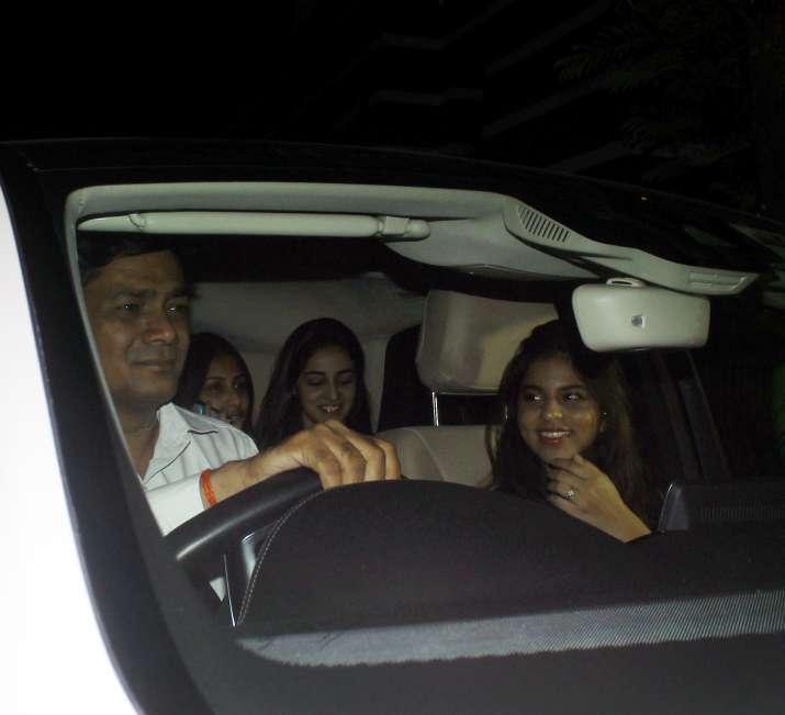 India Tv - Suhana Khan atShanaya Kapoor's birthday party