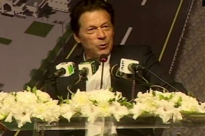 Imran Khan during Kartarpur opening ceremony