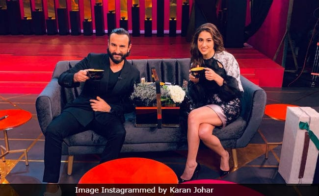 Koffee With Karan 6 Episode 5 Highlights: Watch an extraordinary chemistry between Saif and Sara Ali