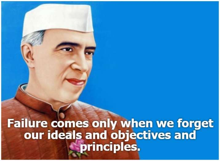 India Tv - Remembering Jawaharlal Nehru: Top 10 thought-provoking quotes by the legendary