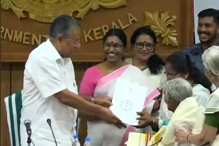 Karthyayani Amma scored 38 out of 40 in writing, and full
