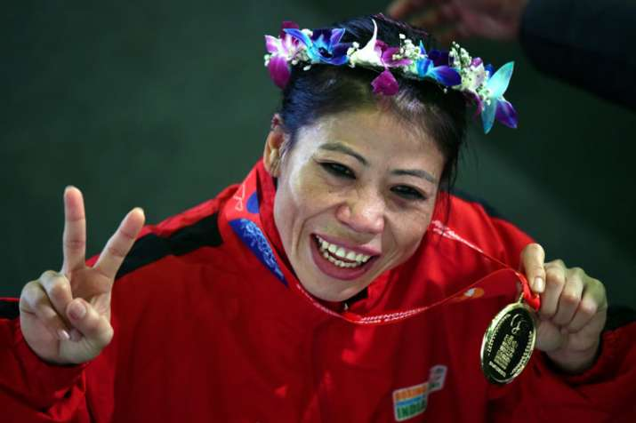 'Magnificent' Mary named best boxer of World Championships